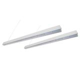 LED铝材吊线灯室内线条灯吸顶灯超薄吊线灯办公长方形线形灯照明