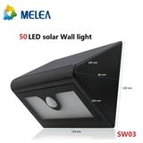 [SW03]LED太阳能灯 壁灯 庭院灯 投光灯 楼道灯
