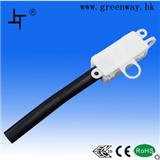 厂家供应安全 环保 ENEC25 CE认证 两位带黑色尾管接线盒 MK1282