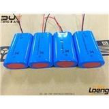 力鹏 厂家 供应3.7v 18650两并锂电池组 2400mah