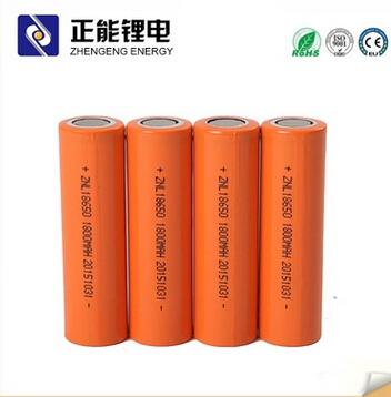 锂电池生产厂家ZNL 18650锂电池1800mah 强光手电移动电源用
