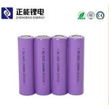 厂家供应ZNL 18650锂电池 2200mah 太阳能路灯电动喷雾器三元材料