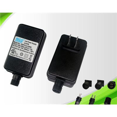 供应24W SAA美规IP44防水电源 LED灯饰驱动电源 防水变压器 认证EN61347