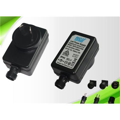 供应24W SAA澳规IP44防水电源 LED灯饰驱动电源 防水变压器 认证齐全有意可联系