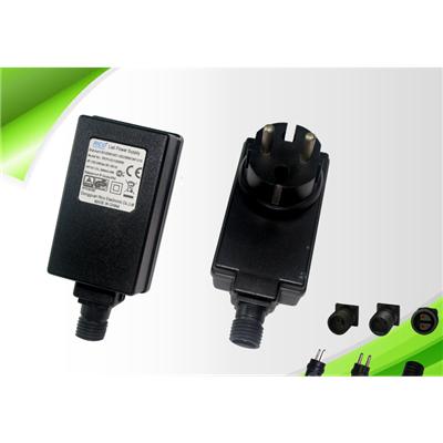 供应24W SAA欧规IP44插墙防水电源 LED灯饰驱动电源 防水变压器 认证EN61347