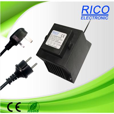 供应400W-600W桌面式防水变压器,适用于高温照明灯具等低压防水产品。认证齐全rico