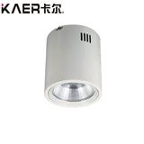 卡尔照明LED圆形筒灯KA-540 COB墙壁灯走廊灯13W/24W