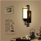 新中式壁灯 客厅卧室床头壁灯过道走廊 创意复古铁艺别墅酒店工程