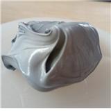 厂家直销导热硅脂灰色含银进口散热膏CPU显卡散热硅胶LED散热膏1千克装导热系数3.0