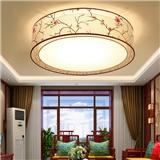 新中式吸顶灯卧室灯温馨正方形圆形房间灯饰简约现代餐厅客厅灯具中国风