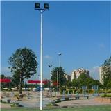 广州足球场高杆灯定制 广场照明20米灯杆 照明灯杆厂家直销