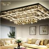 长方形水晶灯客厅灯吸顶灯卧室灯具LED