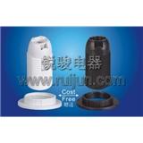 E14-S03 塑料 插线式 全牙 灯头 灯座