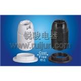 E12-S03 塑料 插线式 全牙 美规 灯头 灯座