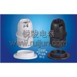 E12-S04 塑料 插线式 半牙 美规 灯头 灯座