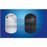 E27-S02 塑料 插线式 欧规 光身 灯头 灯座