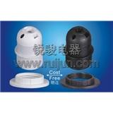 E27-S04 塑料 插线式 欧规 半牙 灯头 灯座