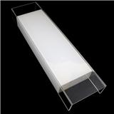 定制粘接丝印钢化玻璃灯罩