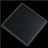 台阶钢化玻璃 AG方形反光反炫目物理钢化玻璃 尺寸丝印可定制加工