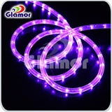 D型大二线LED灯带LED彩虹管圆二线LED彩灯LED灯条暗槽灯