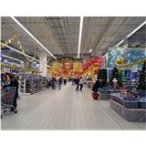 超市线条灯1.5米35w led线性吊灯线型灯线性灯长条灯无缝任意拼接5年质保