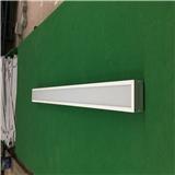 佛山海灏照明办公照明吊线灯HA-301直角白色吊线灯铝型材外框亚克力办公灯