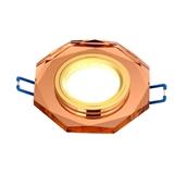 赛尔照明 LED八角水晶射灯 大功率简约天花灯