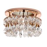 赛尔照明 LED水晶天花灯 时尚带珠筒灯
