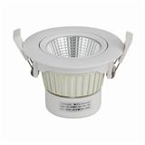 COB灯珠可摇头可调角度聚光照射深度防眩3-12瓦可调光家用商用筒灯
