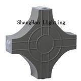 LED户外十字 压铸铝 4x3w防水壁灯户外