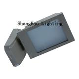 热销 可调角度 创意 LED户外新款铝壳 玻璃18w防水壁灯