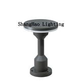 户外led压铸铝草坪灯 插地灯防水草地灯 矮柱灯12w地坪灯 圆形
