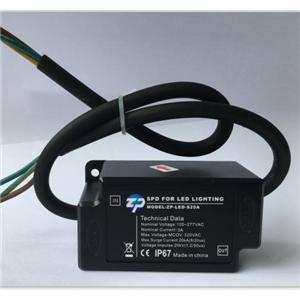 出售大功率灯具防雷器、浪涌保护器、防雷等级20000V、ZP-LED-S20A