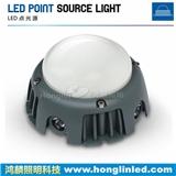 LED点光源,四面发光点光源,led墙面装饰点灯