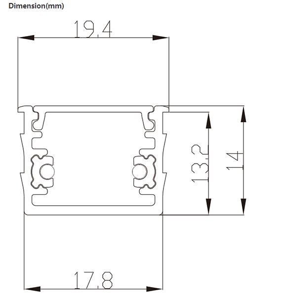 射灯电路施工图