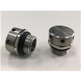 M12x1.5不锈钢呼吸器 金属透气阀 金属呼吸器 防水透气阀 IP68