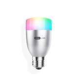 E27可调全彩光LED灯泡 RW27A-6W 不需要依靠手机和网络 1600万种灯光颜色任意调节