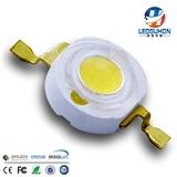 大功率3W白光LED灯珠 镀金支架LED 普瑞45mil灯珠 超高亮LED灯珠