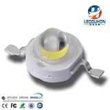 大功率3W白灯 60度角LED灯珠 超高亮普瑞灯珠 3W聚光灯珠