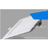 厂家直销LED超薄防雾筒灯 压铸方形面板灯 喷白漆圆形天花灯