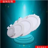 LED筒灯天花圆形方形LED面板灯防雾平板吸顶灯工程专用厂家直销