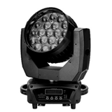 19颗15瓦LED变焦摇头染色灯