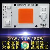 全光谱植物生长灯模组AC220V免驱动线性高压集成COB面光源20W/30W/50W