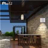 麦特LED室外壁灯简约现代别墅阳台过道背景墙户外创意防水楼梯灯