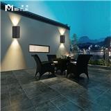 麦特LED户外创意防水壁灯简约现代室外别墅阳台过道背景墙楼梯灯