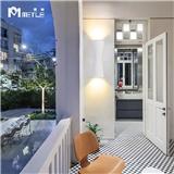麦特LED户外壁灯简约防水现代酒店过道别墅楼梯阳台创意室外灯