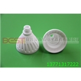 P45-E14花型系列灯杯 陶瓷散热器 陶瓷灯杯 导热陶瓷 LED散热器 LED陶瓷灯杯