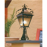 威牌路灯压铸铝新款柱头灯围墙灯欧式中式生产厂家