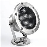 LED水底灯 LED水下灯 LED喷泉灯 LED防水IP68水下灯 户外亮化水底灯 圆形明装水下灯