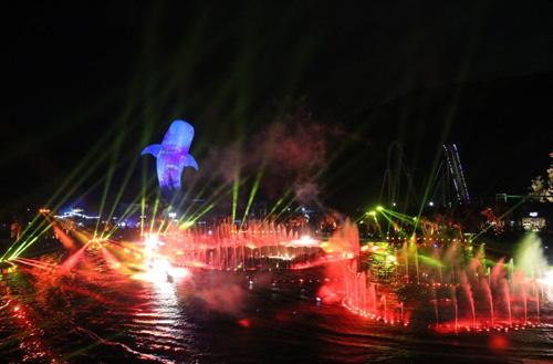 【一场灯光与科技的完美邂逅】浩洋灯光魅力助阵珠海长隆海洋王国中心